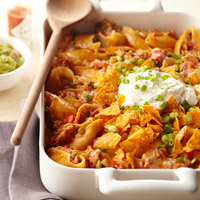 Chicken Enchilada Pasta Recipe BHG