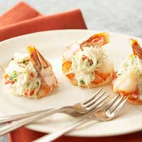 Crab-Topped Shrimp
