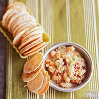 Dried Tomato and White Bean Dip