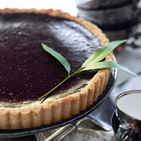 Homemade Chocolate Tart