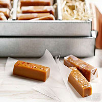 Salt and Pink Peppercorn Caramels