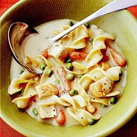 Creamy Chicken Noodle Soup