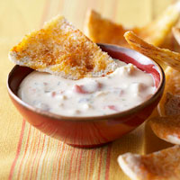 Spicy Chicken-Bean Dip