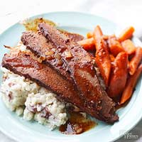 Slow Cooked Wine-Braised Beef Brisket