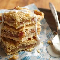 Frosted Apple Slab Pie