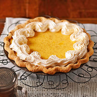 Image of Apricot-custard Pie, Better Homes and Garden
