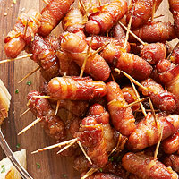 Bacon-Wrapped Smokies