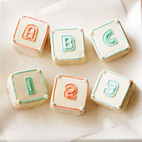Image of Abc Block Cupcakes, Better Homes and Garden