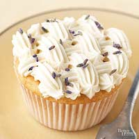 Lavender-Honey Cupcakes