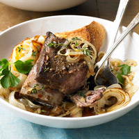French Onion Beef Short Ribs