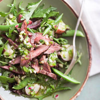Flank Steak Vinaigrette Salad 