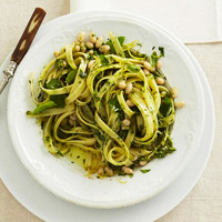 BHG's Newest Recipes:Lemon-Basil Pasta Recipe