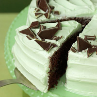 Creme de Menthe Cake