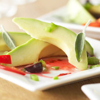 Image of Avocado With Red Pepper Sauce, Better Homes and Garden