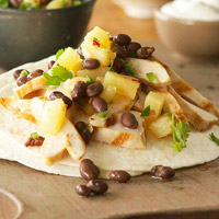 Margarita Fajitas with Lime Salsa