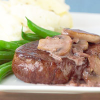 Steak with Pan Sauce