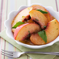 Sweet Basil Peaches