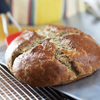Flax Soda Bread