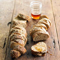 Multigrain Mustard Baguette