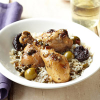 Dried Plum and Olive Chicken