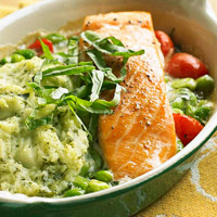 Image of All-in-one Salmon Dinner, Better Homes and Garden
