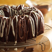 Triple-Chocolate Mocha Cake
