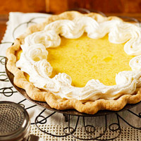 Image of Apricot Custard Pie, Better Homes and Garden