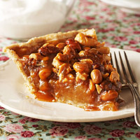 Honey Nut Crunch Pie