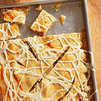 Five-Spice Pear Pie Bars