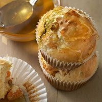 Apricot and Chevre Muffins