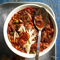 Two-Tomato Stew Chili