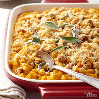 Irresistible Pumpkin Mac and Cheese
