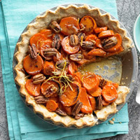 Candied Sweet Potato Pie