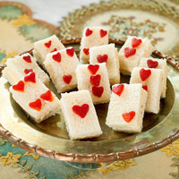 Heart Card Sandwiches