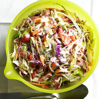 Creamy BLT Coleslaw