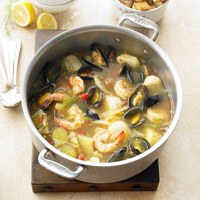 Seafood Bouillabaisse