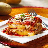 Quick & Healthy Gluten-Free Potato Lasagna