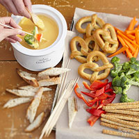 Beer & Cheddar Fondue