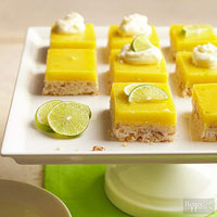 Lime-Pecan Shortbread Bars