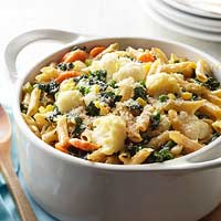 Vegetable-Loaded Pasta Bake