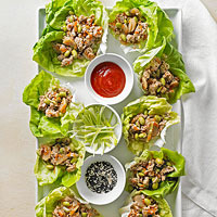 Image of Asian Chicken Lettuce Wraps, Better Homes and Garden