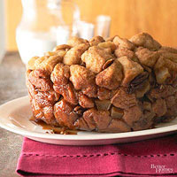 Apple-Spiked Monkey Bread