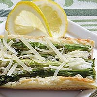 Asparagus & Parmesan Cream Pastry