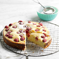Lemon-Raspberry Coffeecake