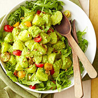 Arugula Pesto Potato Salad