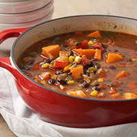 Sweet Potato Black Bean Stew