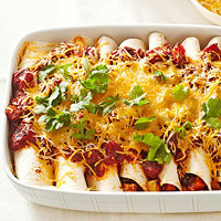 Black Bean and Root Vegetable Enchiladas
