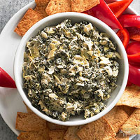 Spinach-Parmesan Dip Recipe