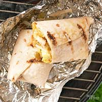 Chicken Breakfast Burritos
