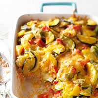 Mashed Potato Veggie Strata